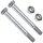 DIN 601 Schraubenset für Pfostenträger 101 mm